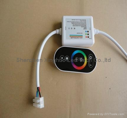 Wireless touching RGB LED controller 1