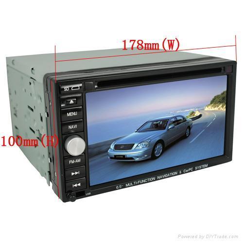 Car DVD GPS 2 Din fit Nissan ALTIM CUBE X-Trail Toyota 2