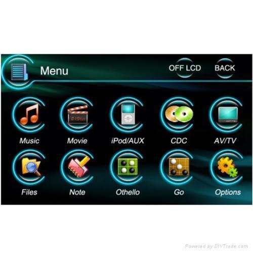 Car DVD GPS 2 Din fit Nissan ALTIM CUBE X-Trail Toyota 3