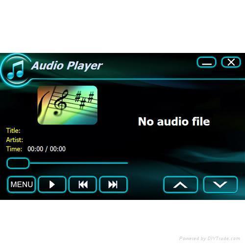 Car DVD GPS 2 Din fit Nissan ALTIM CUBE X-Trail Toyota 4