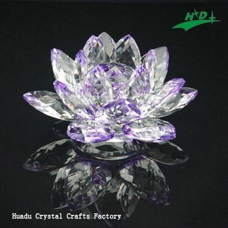 水晶花形燭台 HD-F012 1