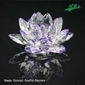 水晶花形燭台 HD-F012
