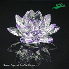 crystal flower candlestick HD-F012