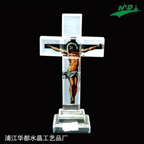 水晶十字架 HD-C008 1