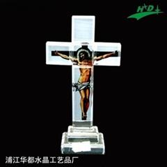 水晶十字架 HD-C008