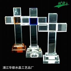 水晶十字架 HD-C005