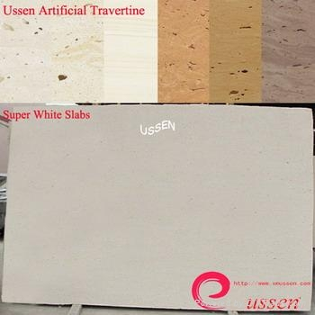 Super White Artificial Travertine  1