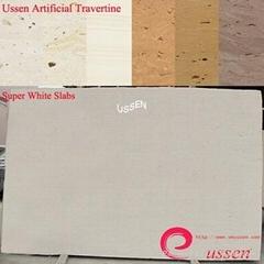 Super White Artificial Travertine