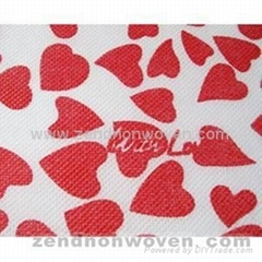 Printing Nonwoven Fabric