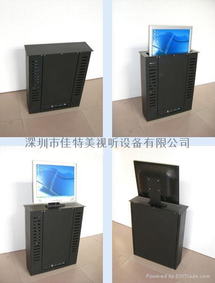 LCD液晶顯示屏電動遙控昇降器 1