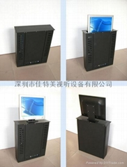LCD液晶顯示屏電動遙控昇降器