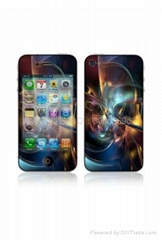 for iPhone 4G silicone skin cover