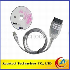 2014 Hot Sale For BMW INPA K+CAN K+ DCAN USB diagnostic Interface Coder Scanner