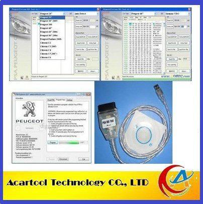 Professional PSA BSI tool for Peugeot and Citroen Odometer