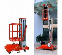 Mobile Aluminium Work Platform Single Mast