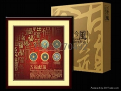 西安古錢幣禮品冊子