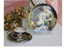 潮州市骨质瓷餐具套装之杯碟系列