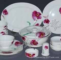Bone china tableware sets 1