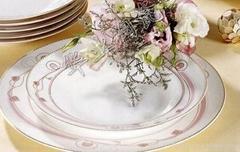 西式骨质瓷餐具批发