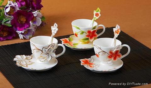 Coffee cup, coffee, coffee pot 4