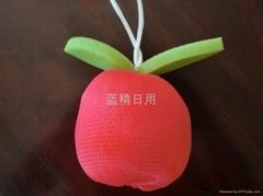 蘋果水果造形沐浴球沐浴禮品