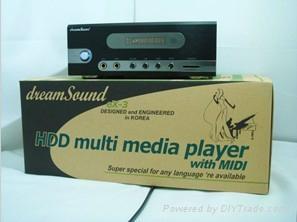 Multi language HDD karaoke players 1
