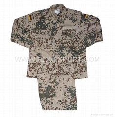 german desert camouflage uniform
