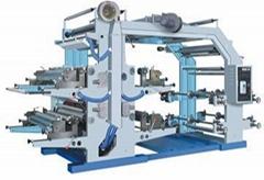 Four Color Flexographic Printer/flexo printing machine
