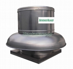 Centrifugal roof mounted exhaust fan or ventilator