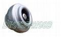low noise inline centrifugal fan
