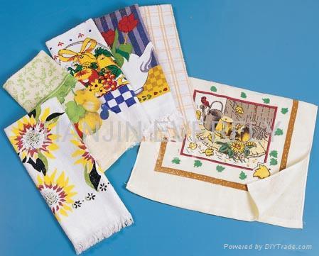 printed kitchen towel 4