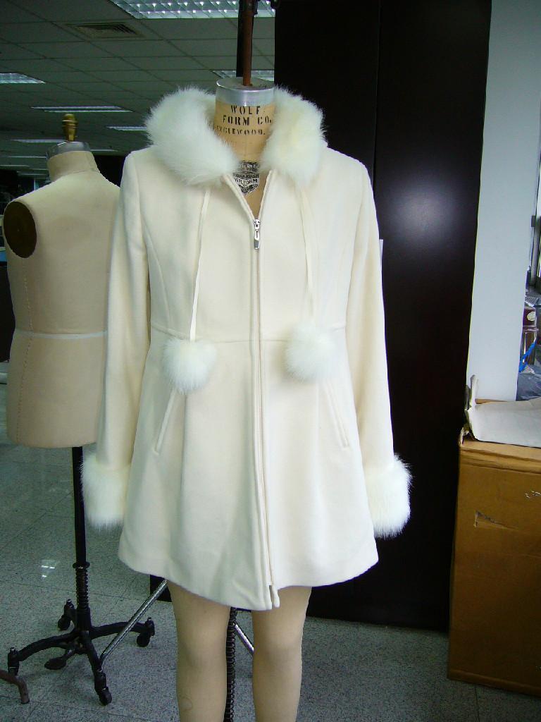 6964bd4166b1 Ladies Woolen Cloth Coat - 245035 (China) - Down   Winter Apparel ...