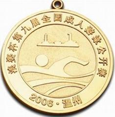 顶级造币技术定制奖牌