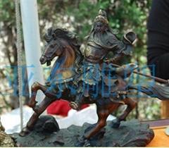 玻璃钢雕塑--战马
