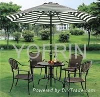鋁傘休閑庭院傘 2