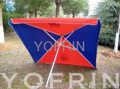 方形太陽傘