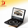 7 inch Portable dvd player 1