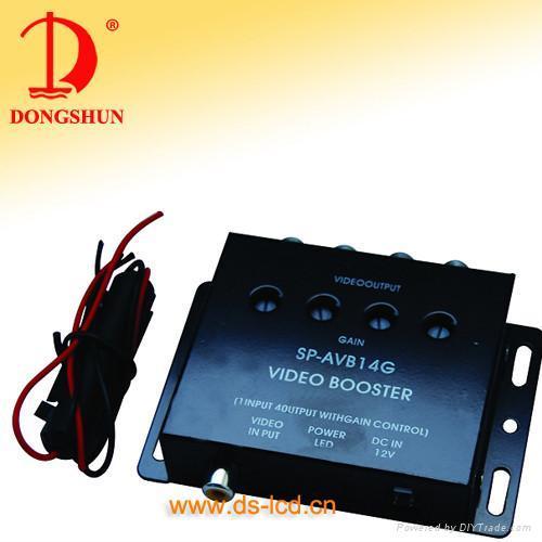 4 ways video amplifier 1