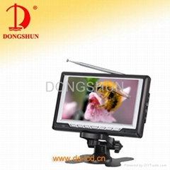 7 inch tft lcd monitor tv with USB,SD