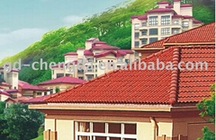 Sun Stone coated metal roofing