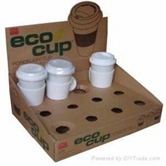 Pop cup  display