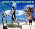 折疊沙灘電動跑步機健身器材 1