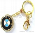 Mixed styles auto Car Keychains popular key chains 1