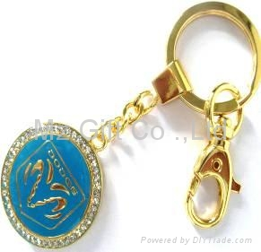 Mixed styles auto Car Keychains popular key chains 2