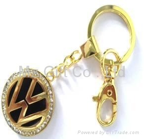 Mixed styles auto Car Keychains popular key chains 4