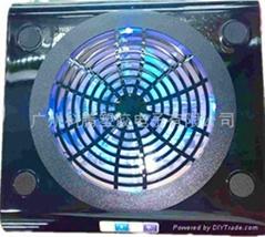 5.0厚板大风扇笔记本电脑散热器