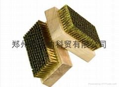 美國高彈力網紋輥清洗用銅絲刷