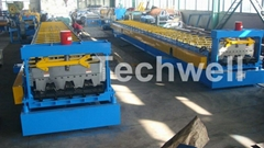 Floor Deck Roll Forming Machine, Floor Decking Forming Machine