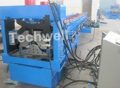 Ridge Cap Forming Machine, Ridge Tile Forming Machine
