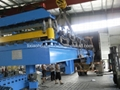 Delivery of High-Speed Double Layer Roll Forming Machine To Saudi Arabia